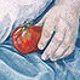 Oil painting Love Apples by Judith  Elsasser