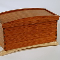 Jewelry Box Bubinga  by Enrique Morales