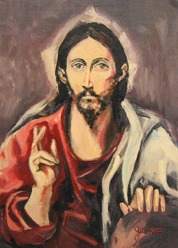 Christ The Savior by John Keaton