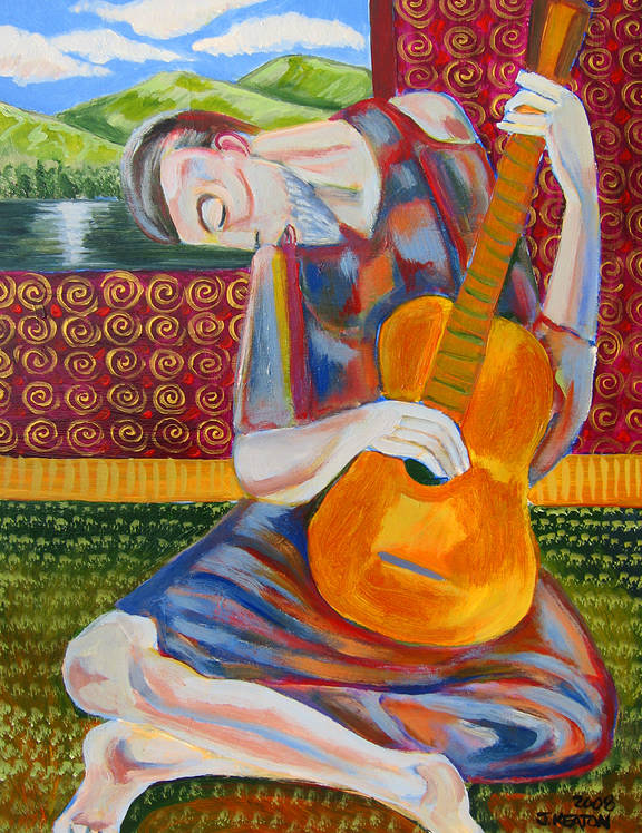 The Guitarist 2008 by John Keaton