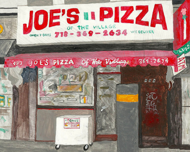 joe's pizza by anthony Ziegler