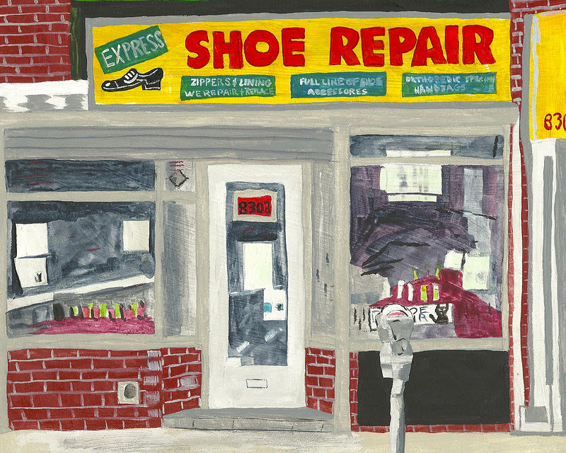 shoe repair- express by anthony Ziegler