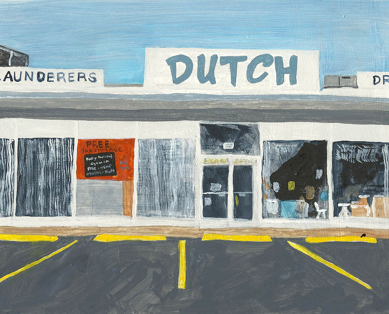 Acrylic painting dutch clean by anthony Ziegler