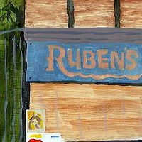 Acrylic painting Ruben's by anthony Ziegler