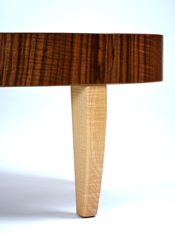 Claro Walnut- Maple Table Detail #2 by Enrique Morales