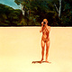 Oil painting Nude photographer by Guntis Jansons