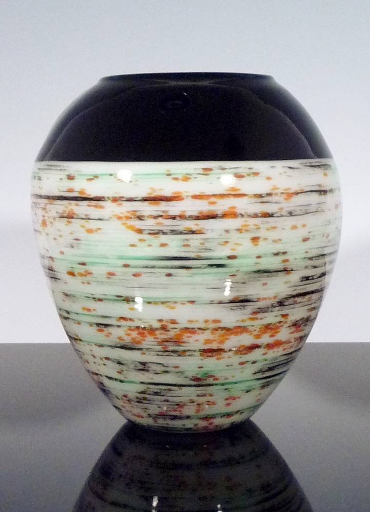 Rollup Glass Vessel by Claudia Whitten