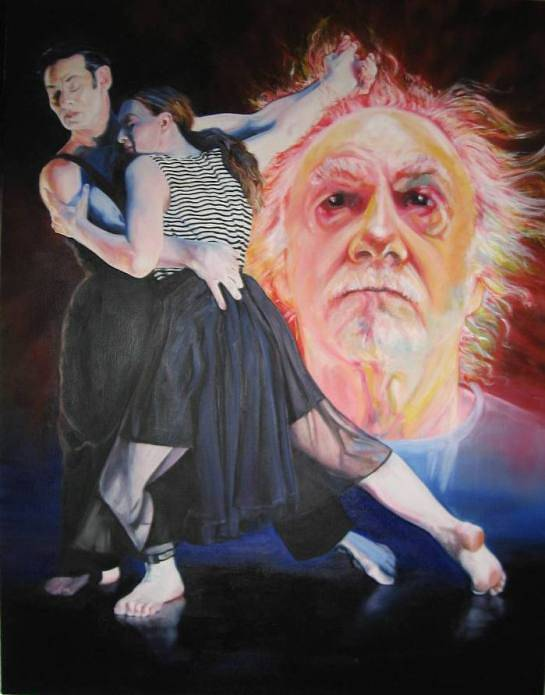 Oil painting Tango Dreams by Judith  Elsasser