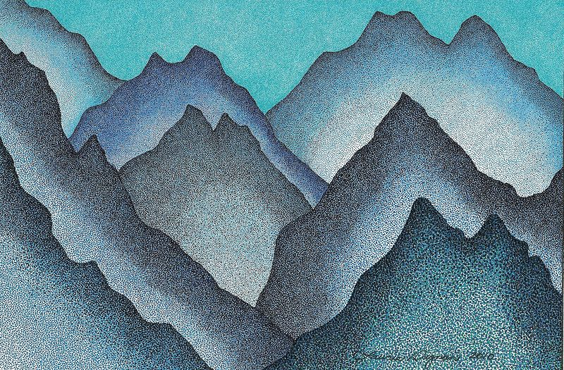 Peaks and Vallies by Lawrie  Dignan