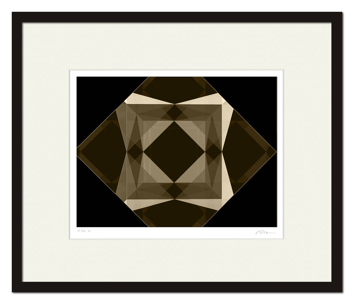 the CUBE-17-1437 FRAMED by John  Douglas