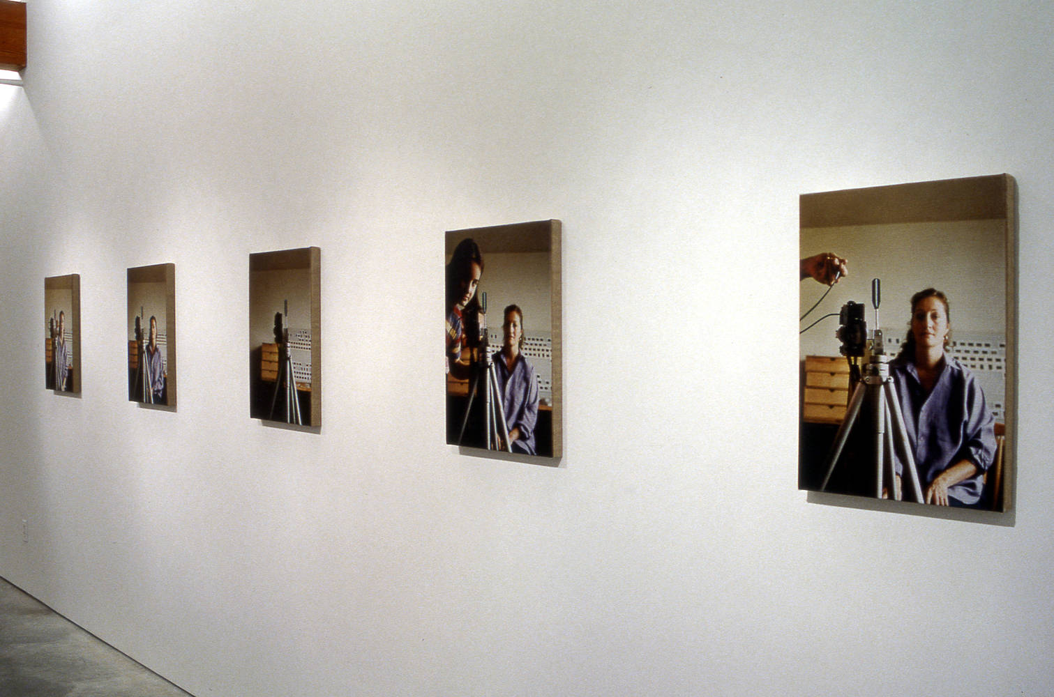 Photography Charles H. Scott Gallery Installation 1994 by Monique Fouquet