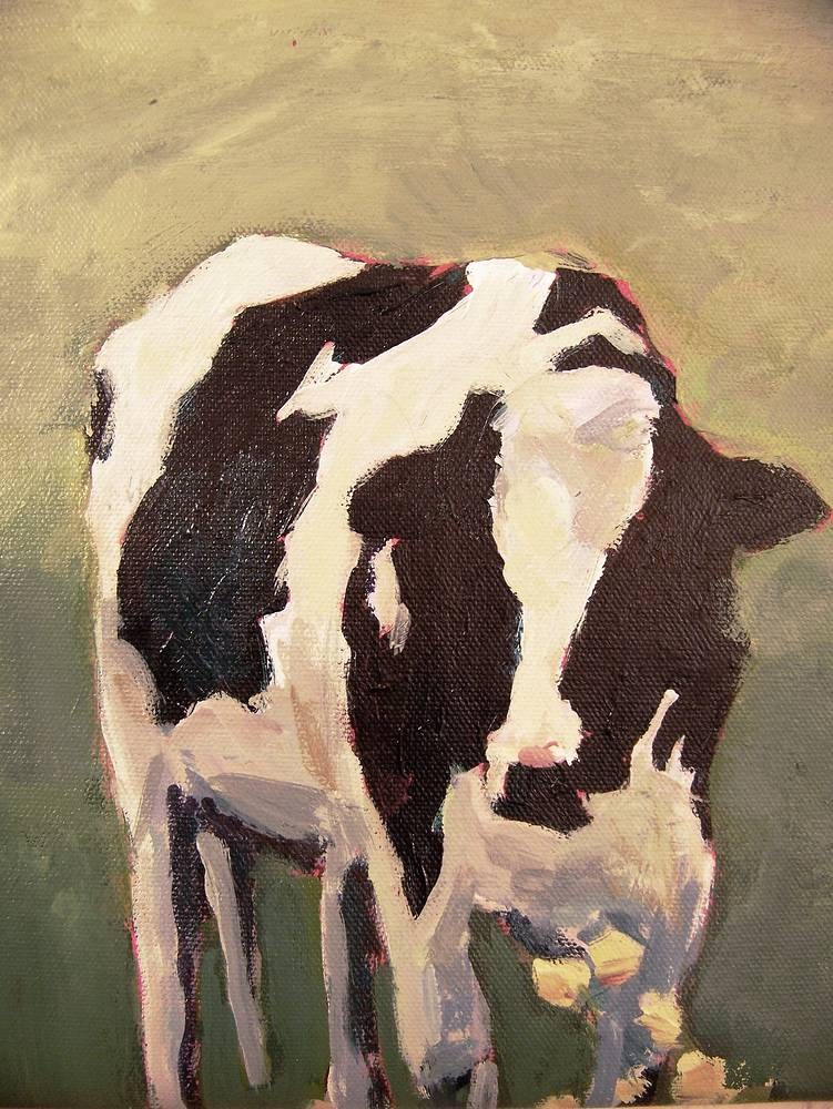 beths cow sold by Michael  Gaudreau