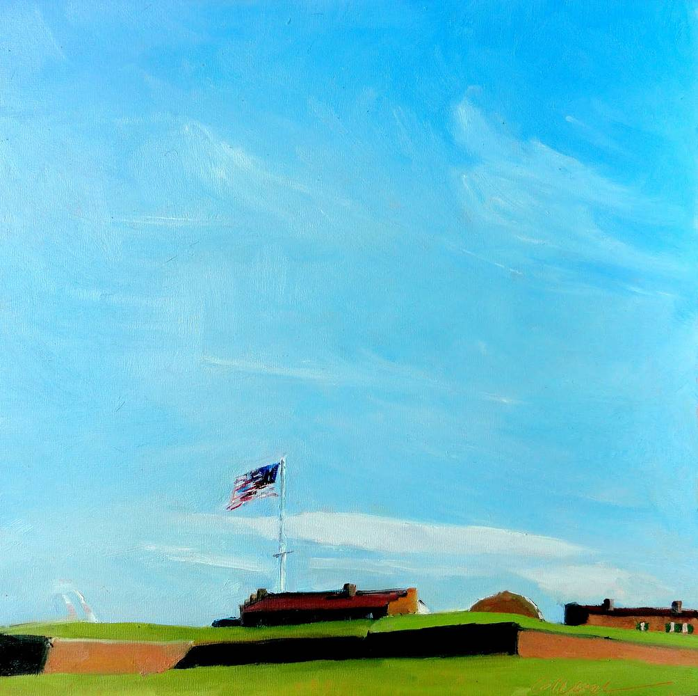 Fort_McHenry_michael_gaudreau_12x12in[1] by Michael  Gaudreau