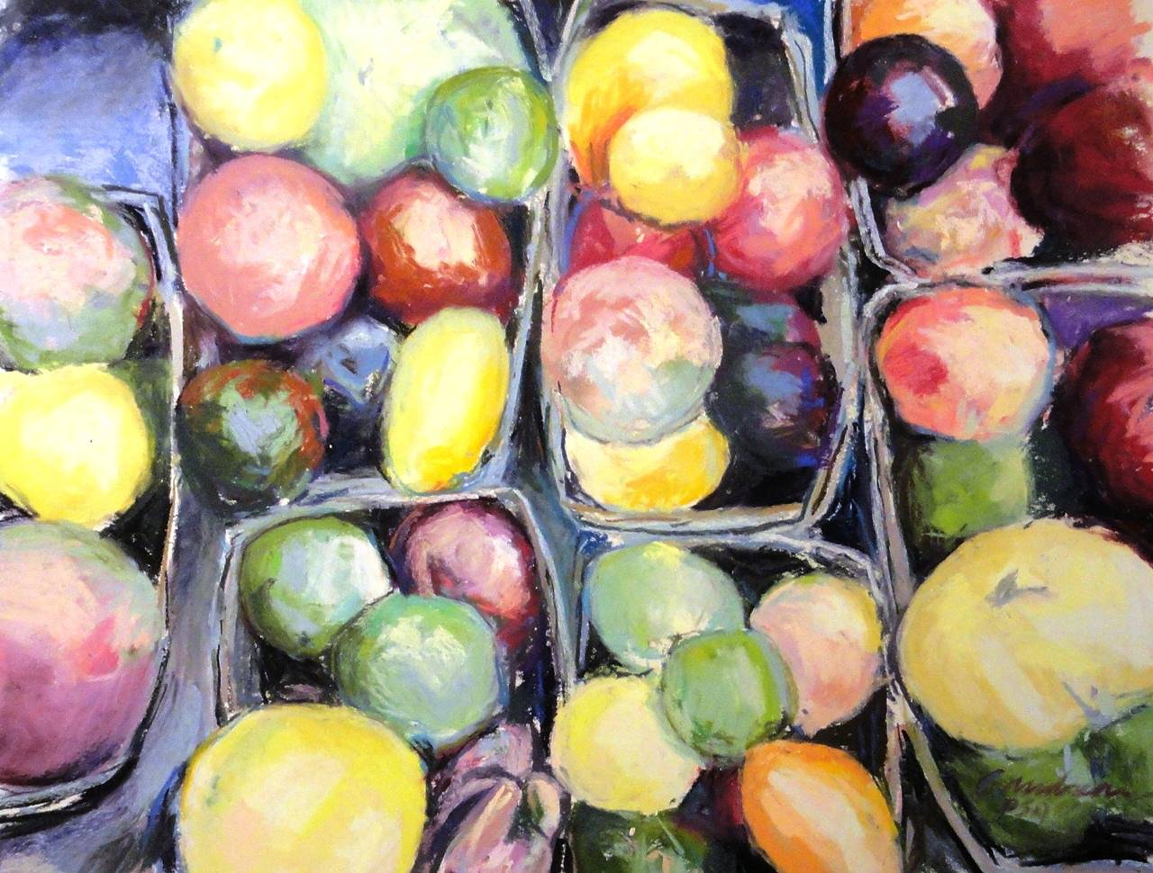 Heirloom Tomatoes by Michael  Gaudreau