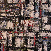 Acrylic painting Urban Rhythms #9 by David Tycho