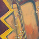 Three Saxophones by John Keaton