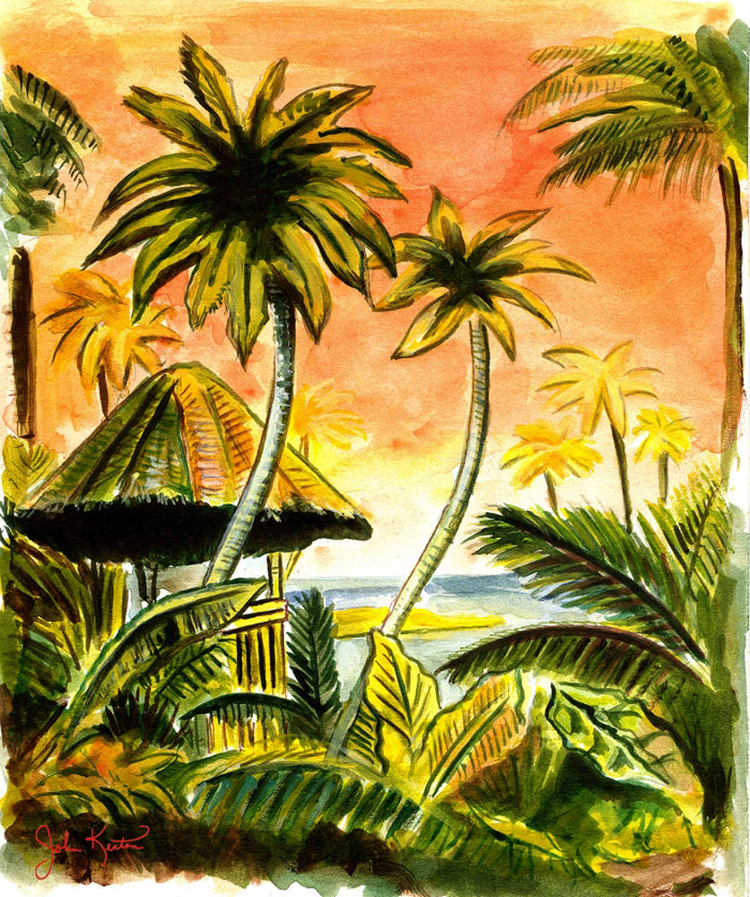 Tropical Skies by John Keaton