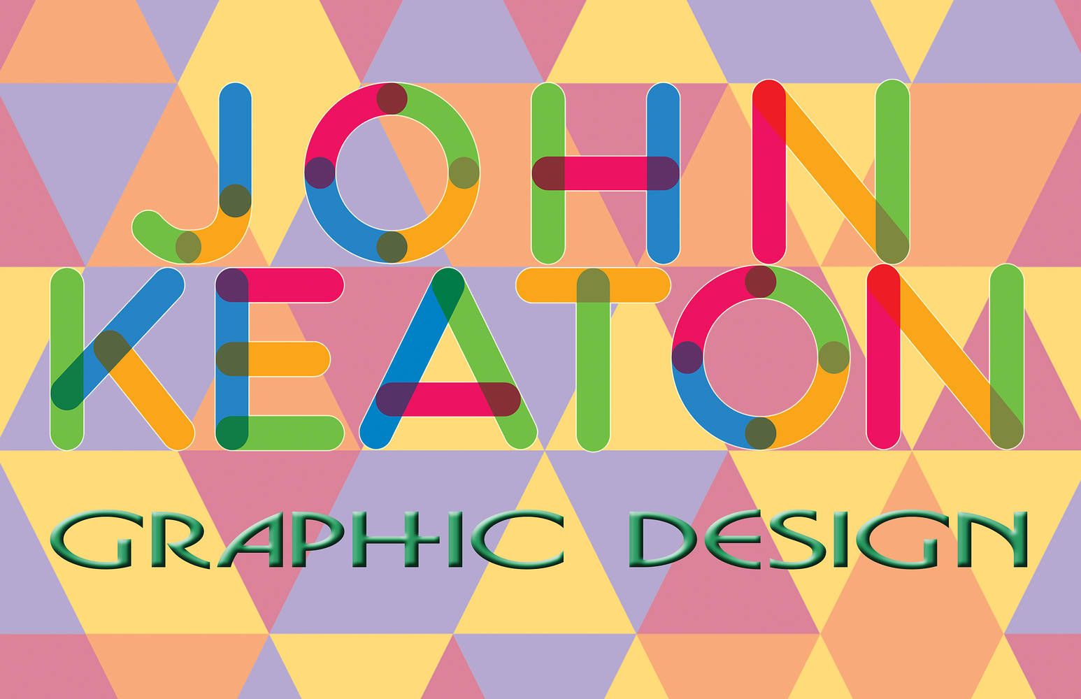John Keaton Graphic Design Logo by John Keaton