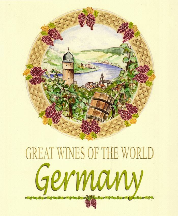 Germany Wine Poster by John Keaton