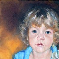 Oil painting Sam and Jack by Judith  Elsasser