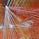 Drawing String Theory as Color theory detail 1 by Jacqueline Bell Johnson