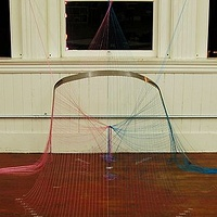 Drawing String Theory as Color theory 1 by Jacqueline Bell johnson