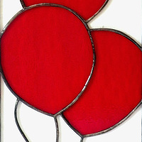 Red Balloons by Catherine Hart