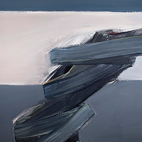Acrylic painting Vital Gesture #12 by David Tycho