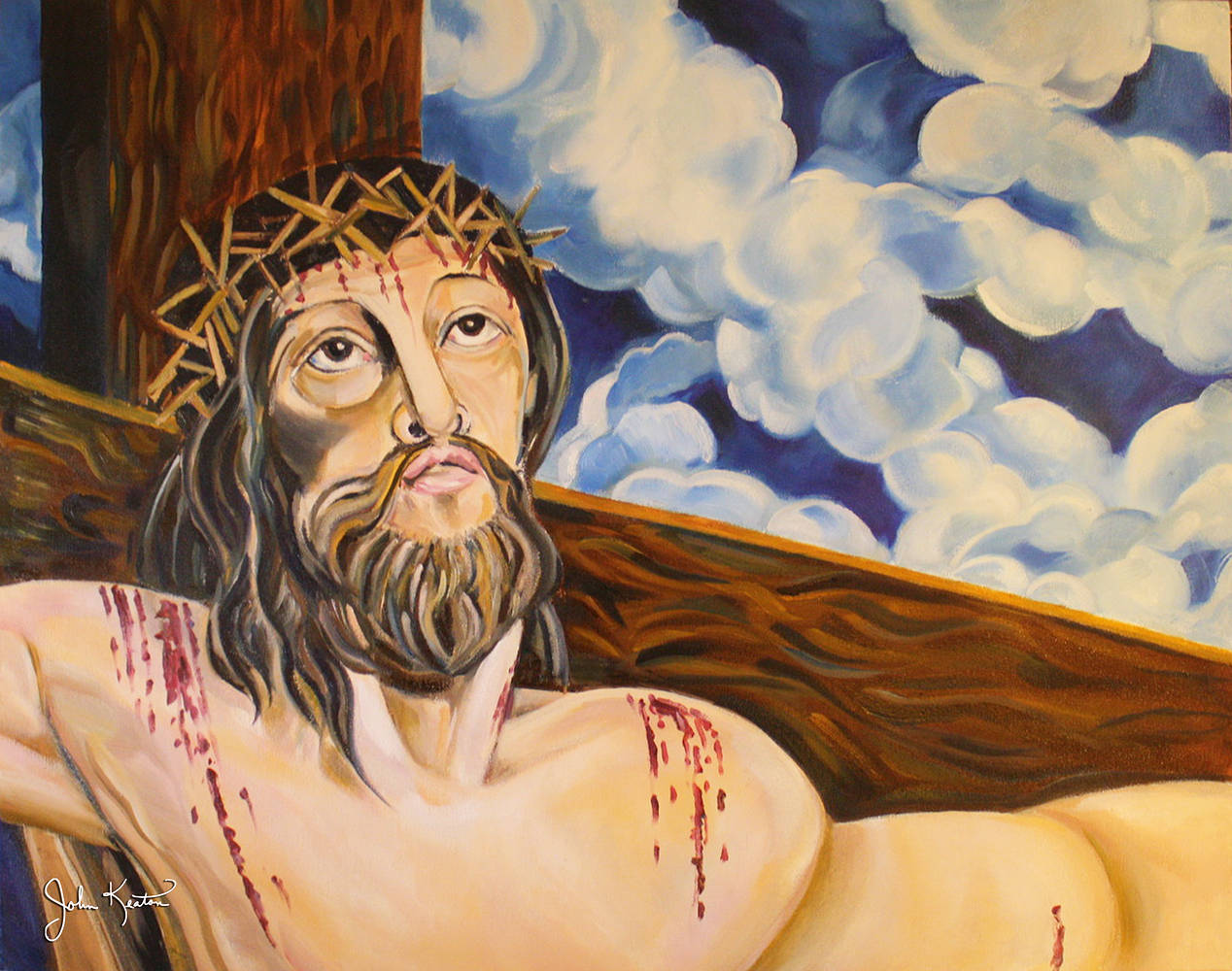 The Crucifixion by John Keaton