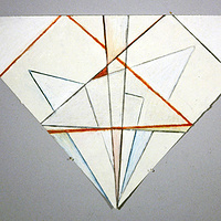 Drawing White Prism by Gary Eleinko