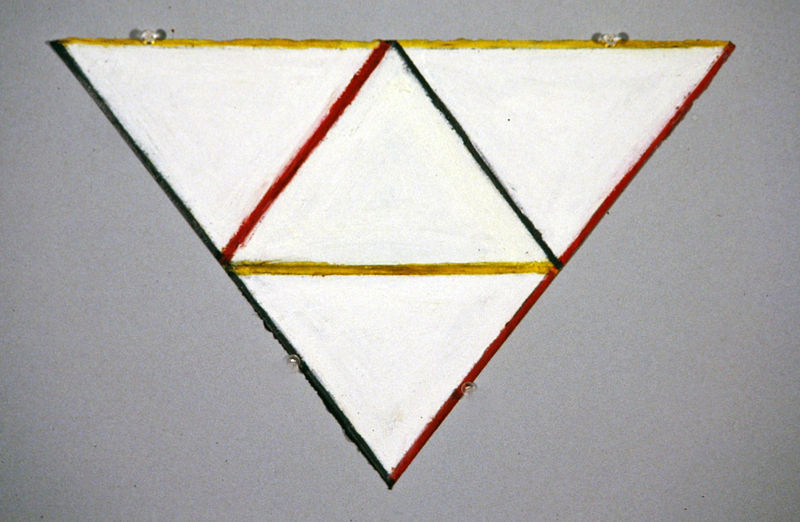 Drawing Primary Triangle -Trio by Gary Eleinko