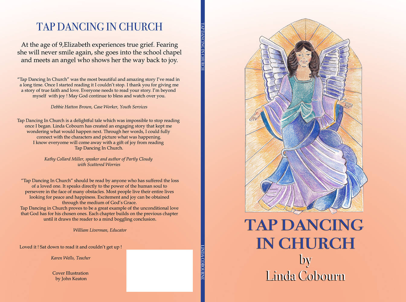 Tap Dancing in Church Book Cover by John Keaton