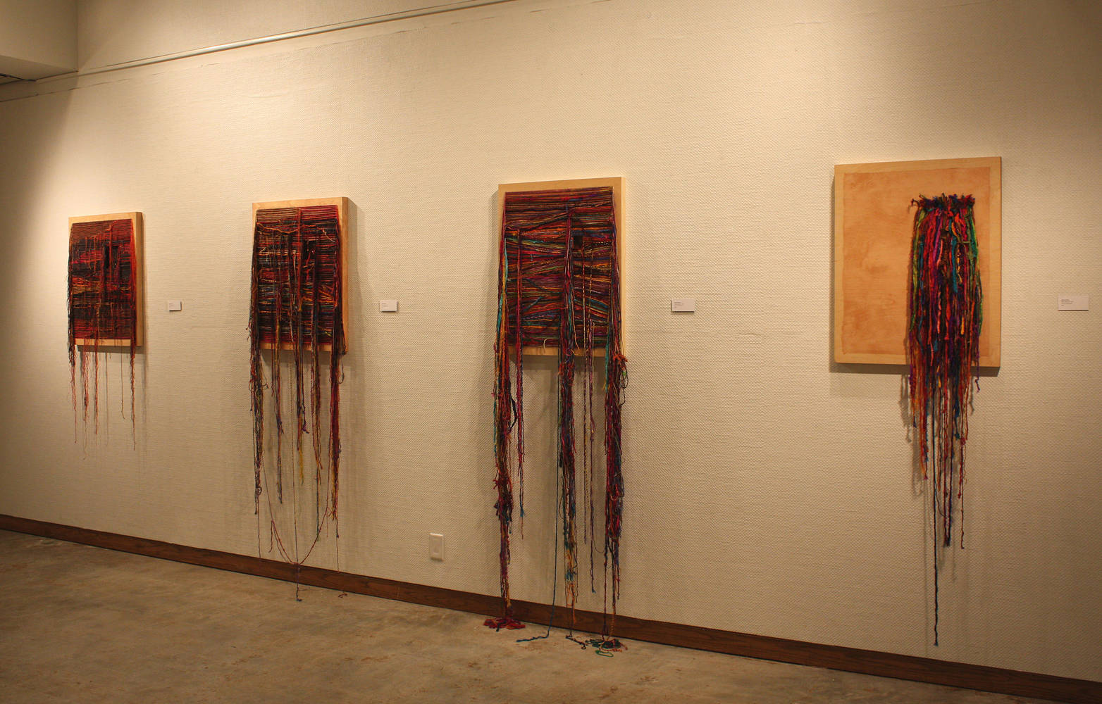 "Installation View ""Open Close"" by Olga De klein"
