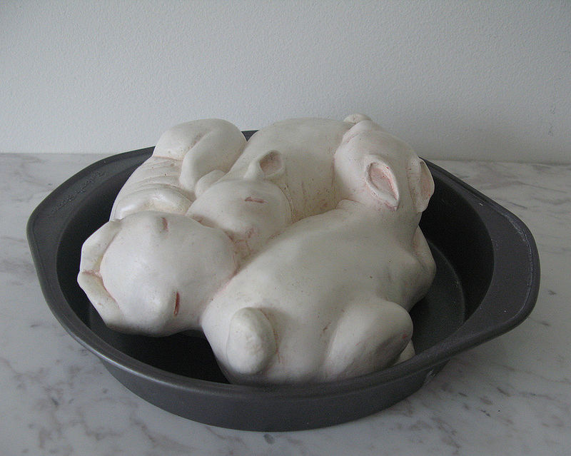 sleeping bunnies by D'andrea Bowie-defilippis