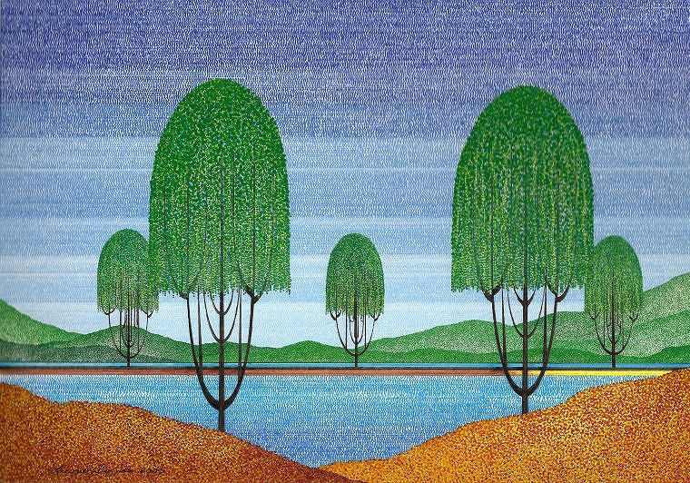 Print Willow Shore by Lawrie  Dignan