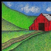 Print Red Barn  by Lawrie  Dignan