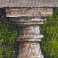 Oil painting Study of Stonework by Richard Mountford