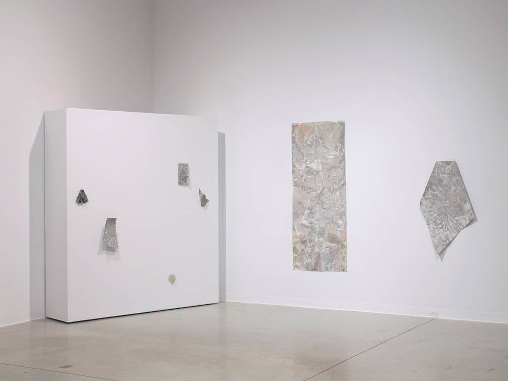 Drawing constant negotiation (installation view) by Thea Yabut