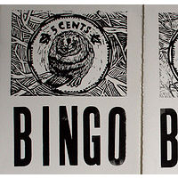 detail of Bingo Cards by Belinda Harrow