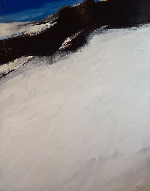 Acrylic painting Ode to Black Tusk by David Tycho