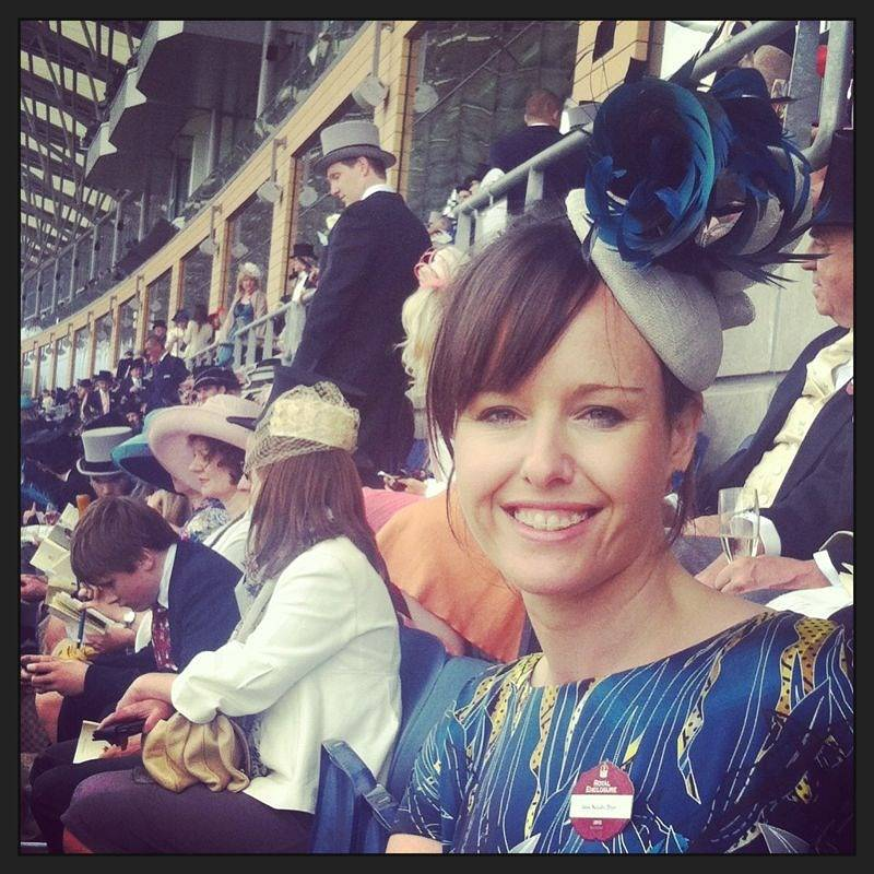 Natalie at Royal Ascot 2013 by Fiona Menzies