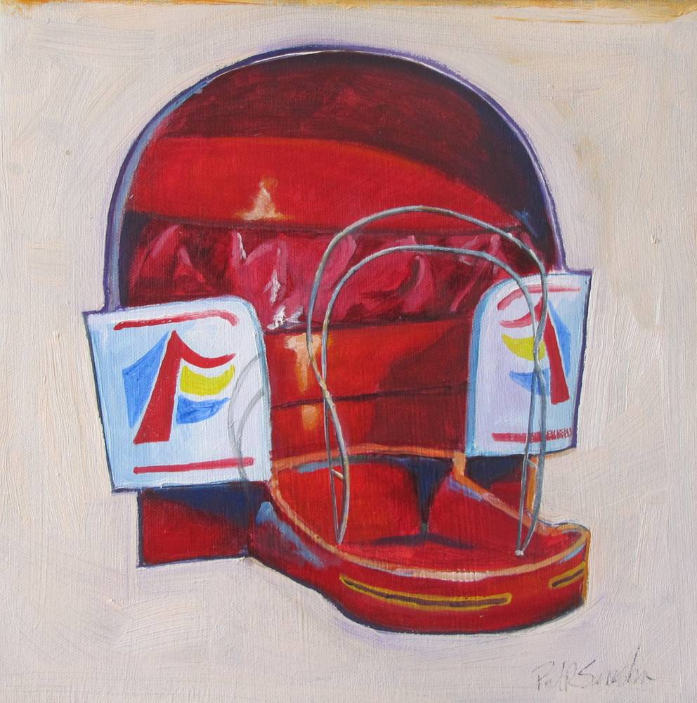 Oil painting Tilt-a-Whirl by Paul Sershon