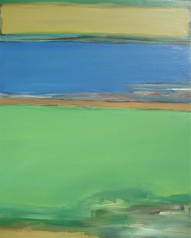 Acrylic painting River No. 26 by David Tycho