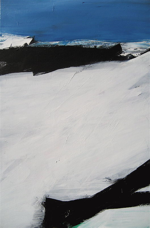 Acrylic painting Black Tusk #20 by David Tycho