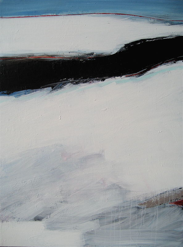 Acrylic painting Black Tusk No. 24 by David Tycho