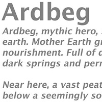 About the 'Ardbeg' series... by Lori Sokoluk