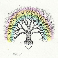 Print Dream tree by Sue Ellen Brown