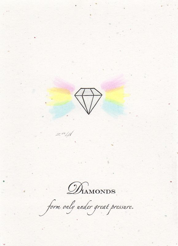 Print Diamonds by Sue Ellen Brown