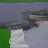Acrylic painting Vital Gesture #3 by David Tycho