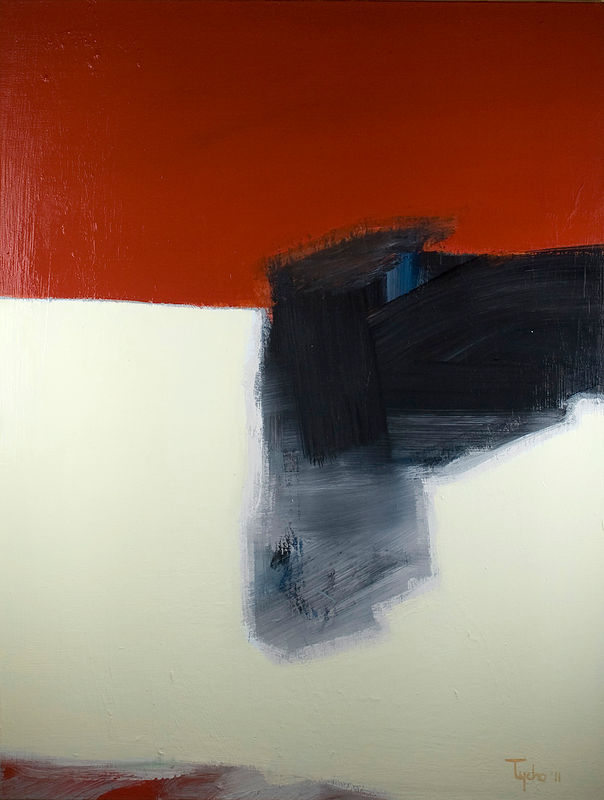 Acrylic painting Vital Gesture No. 9  by David Tycho